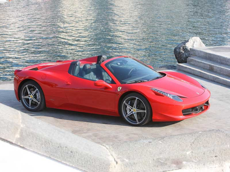 ferrari 458 spider 2013 02 800x600. Cars Review. Best American Auto & Cars Review