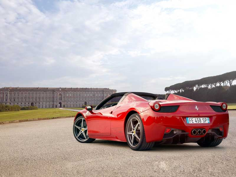 ferrari 458 spider 2013 03 800x600. Cars Review. Best American Auto & Cars Review
